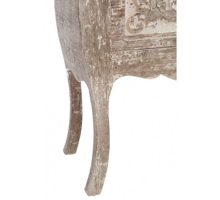 Commode style oriental bois sable ESSAOUIRA