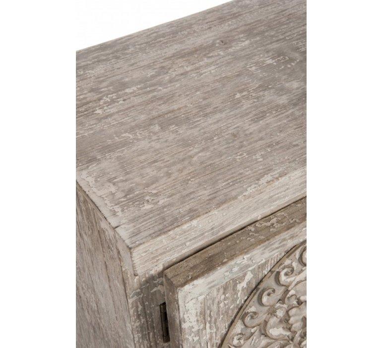 Buffet bois sable style oriental ESSAOUIRA