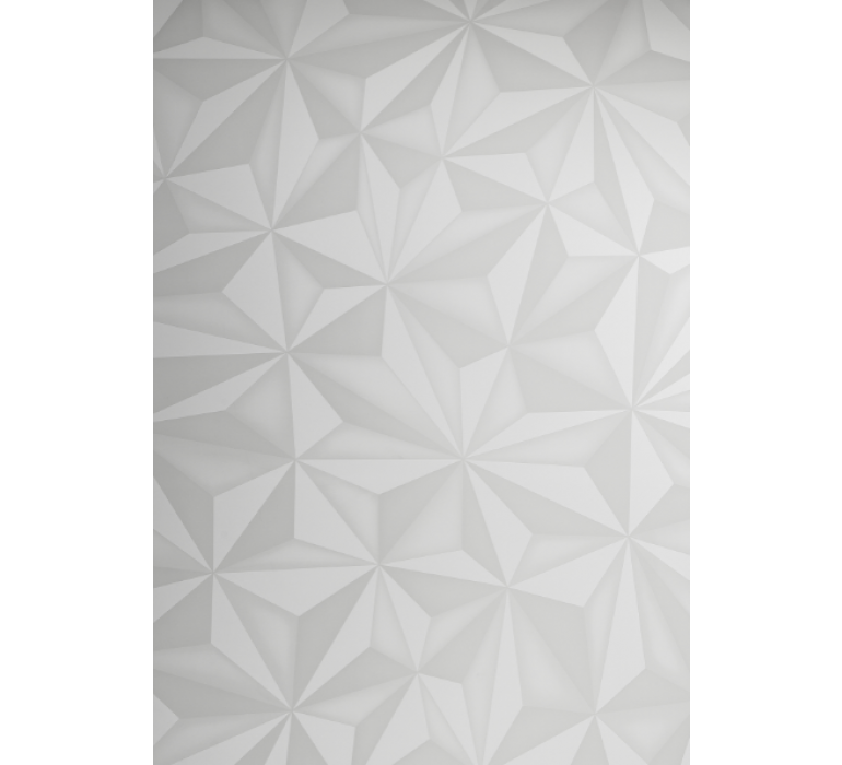 Buffet design blanc avec effet prisme DIAMOND II