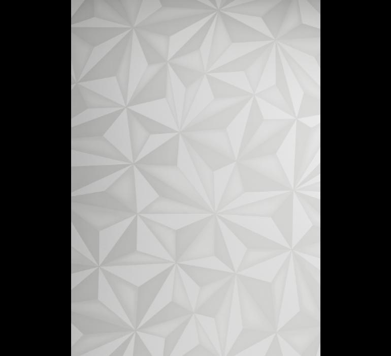Buffet blanc design avec effet prisme DIAMOND
