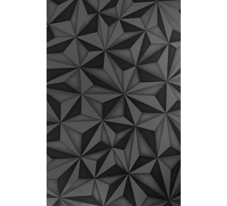 Meuble TV design blanc avec effet prisme DIAMOND