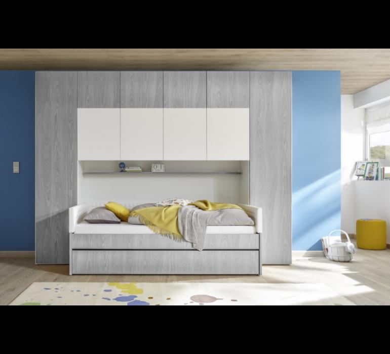 Chambre enfant lit pont moderne SURF