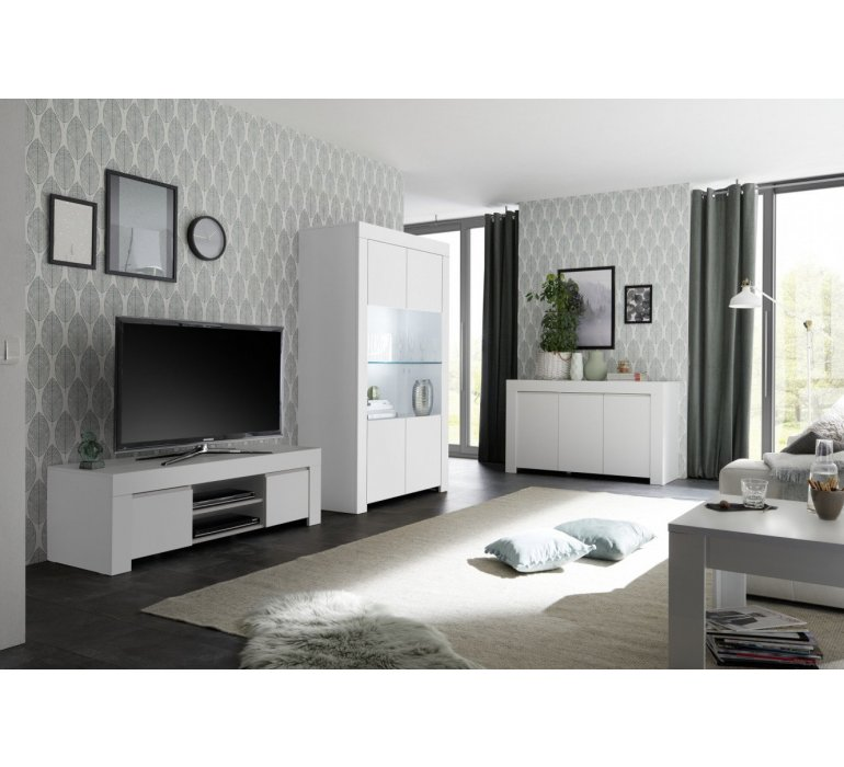 Vaisselier blanc design SORRENTE