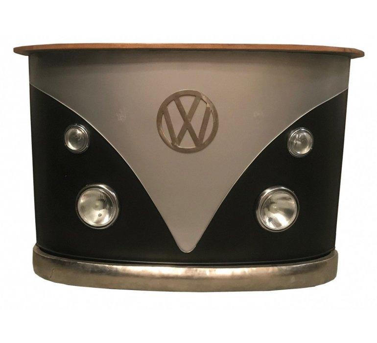 Meuble bar industriel métal COXCOMBI