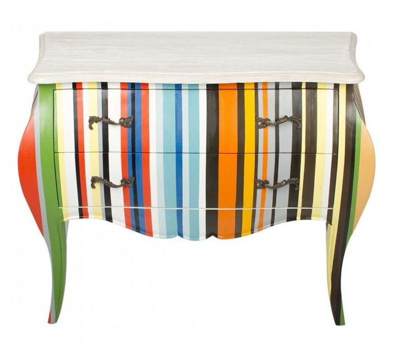Commode baroque COLORFULL