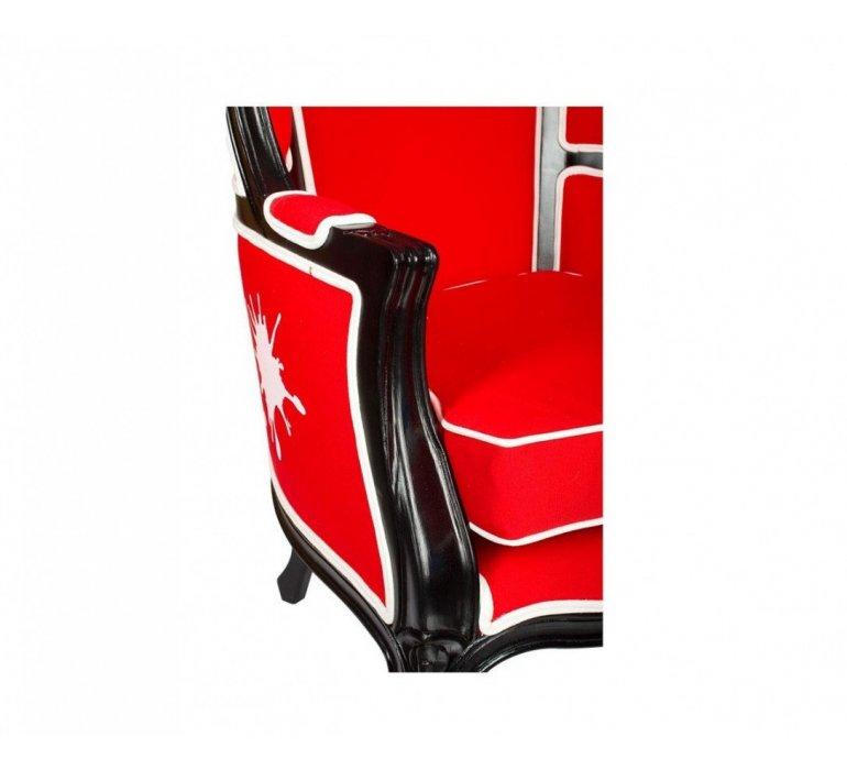 Fauteuil carrosse rouge design COLORFULL