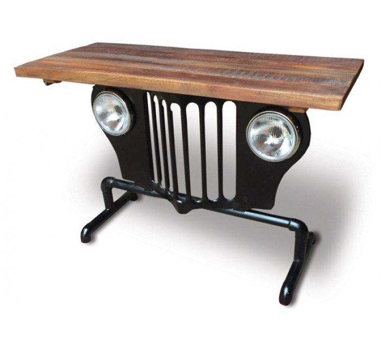 Console calandre jeep style upcycling JEEPSY