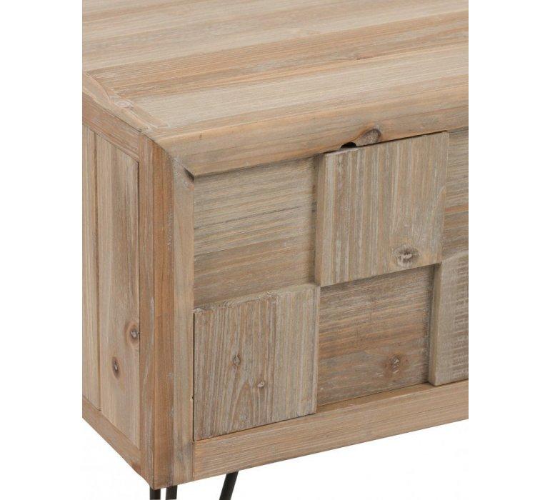 Table basse bois clair scandinave NORVEGE
