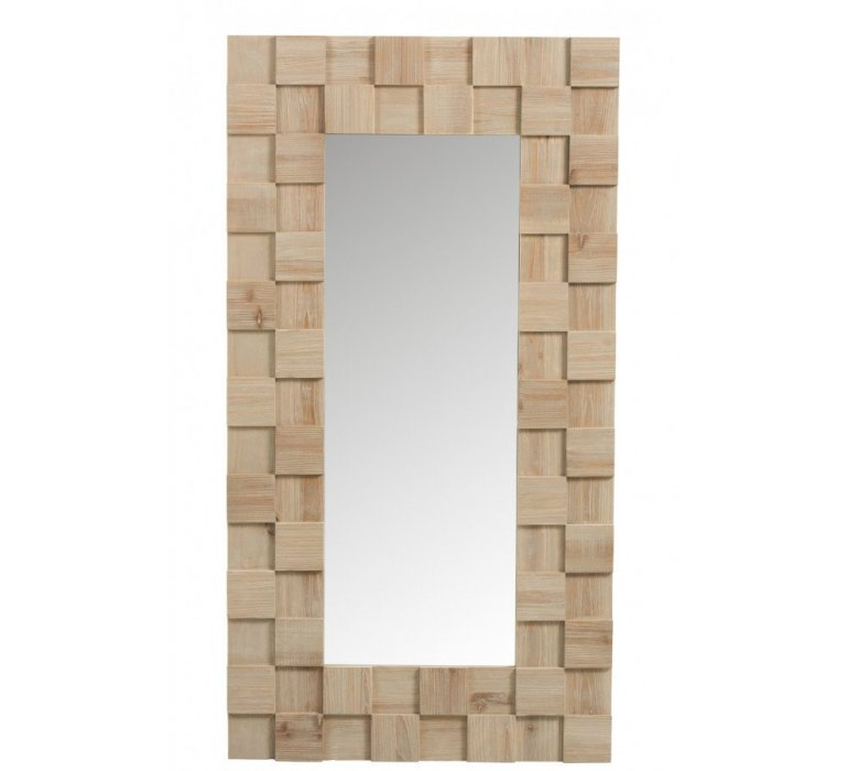 Miroir bois clair scandinave NORVEGE
