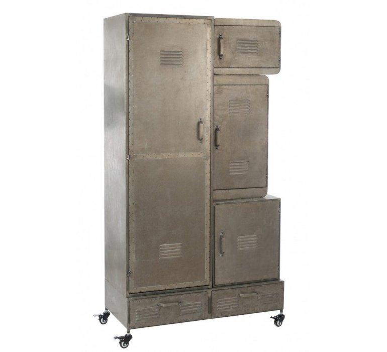 Armoire casier industriel sur roulettes OREGON