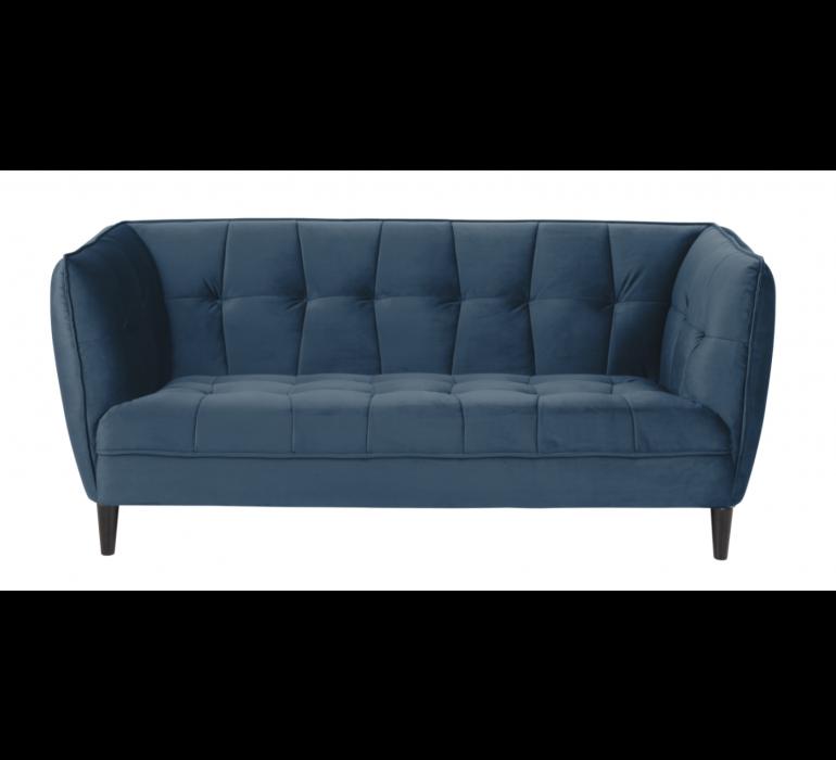 Canapé vintage bleu FLEURDELYS