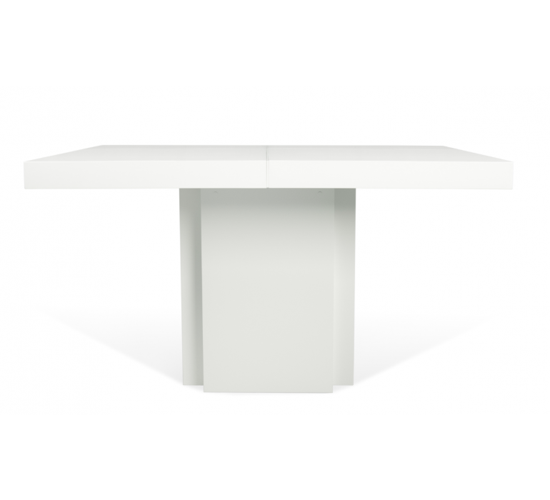 Table carrée design blanche SORRENTE