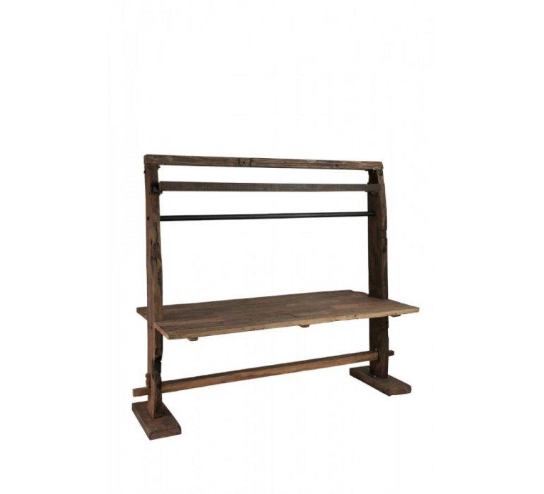 Table à manger 200cm bois recyclé industriel KAMELOT