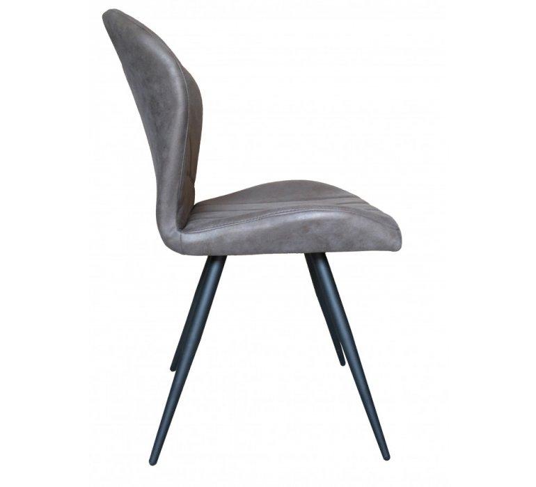 Chaise grise design avec poignée IRWIN