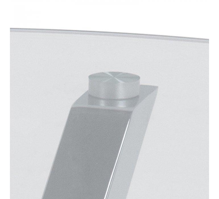 Table basse design ronde en verre BADABEST