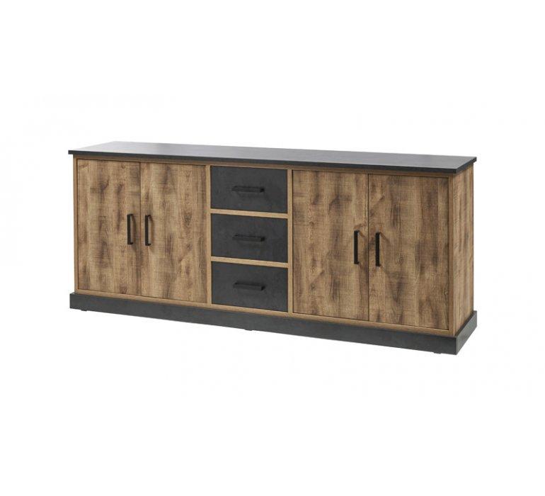 Buffet moderne 4 portes et 3 tiroirs HOWEN
