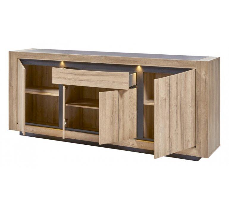 Salle à manger moderne bois clair LENSON