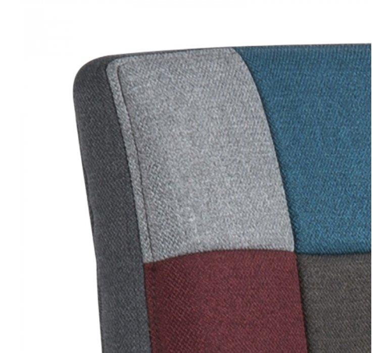 Chaise de bar patchwork design (lot de 2) ARLEKIN