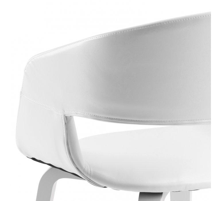 Chaise design blanche (lot de 2) LAZIO