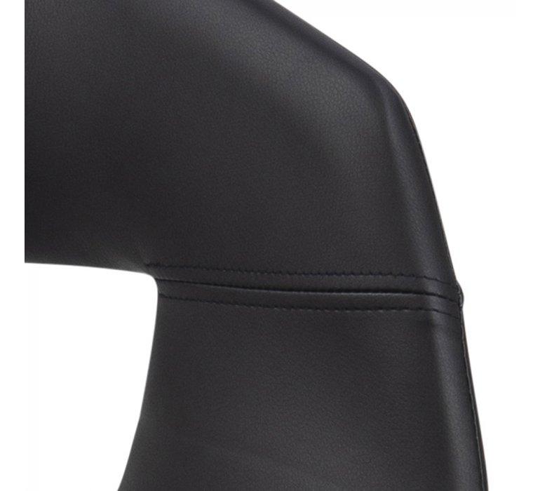 Chaise design noire (lot de 2) ROMA