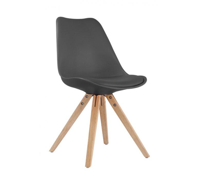 Chaise scandinave noire SUEDE