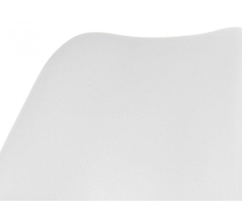 Chaise scandinave blanche et noire SUEDE