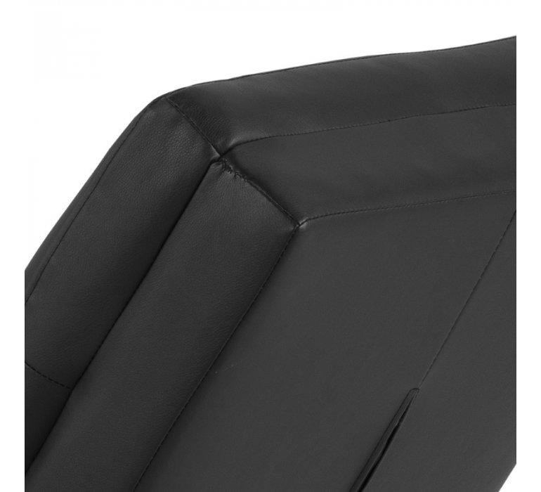 Méridienne design noir NOUKY