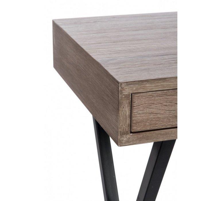Bureau bois et métal contemporain RYVON