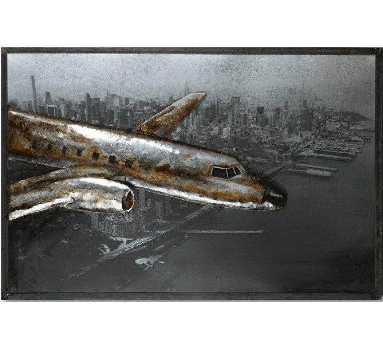 Décoration murale en métal AVIATEUR