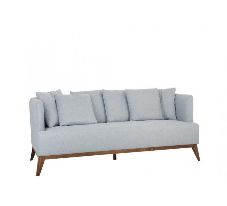 Canapé bleu style scandinave OSLO