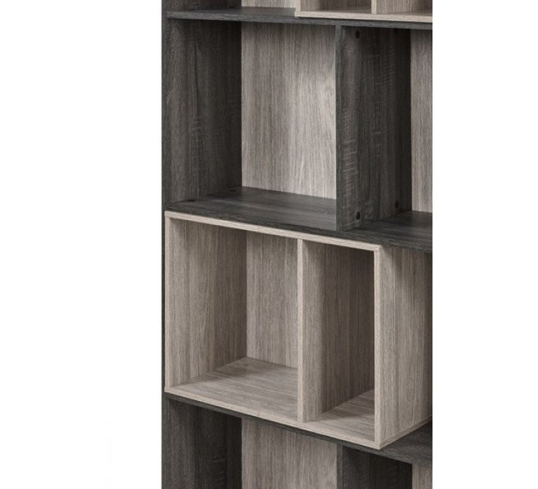 Bibliothèque gris clair et anthracite scandinave ARHUS