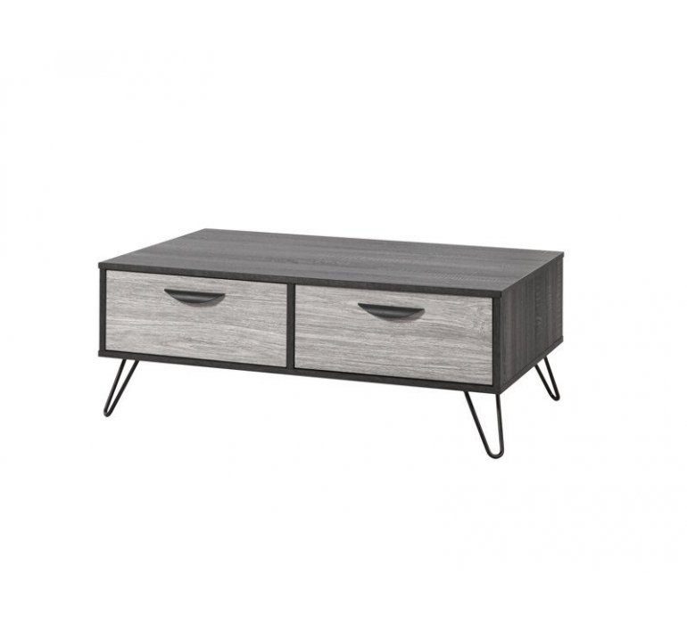 Table basse gris clair scandinave ARHUS