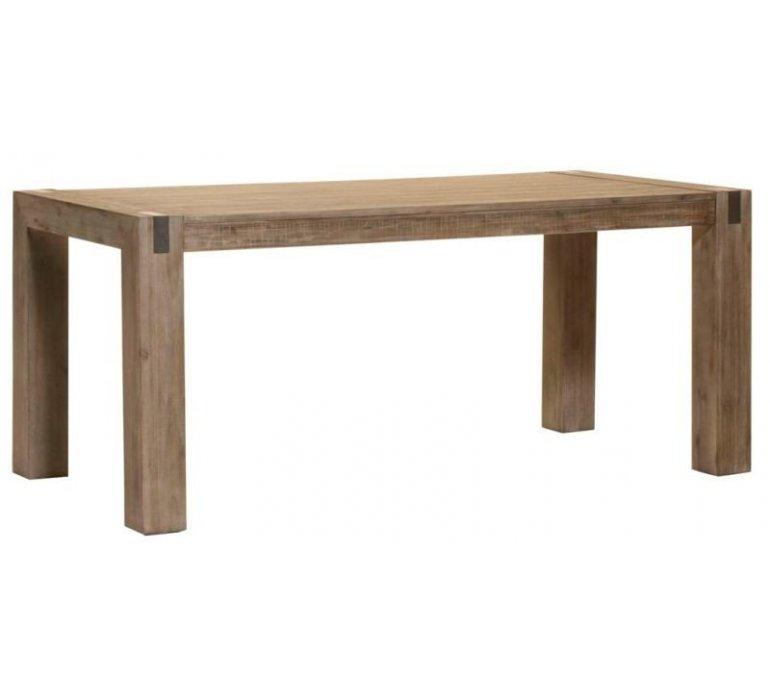Table à manger bois massif style Africain MOZAMBIQUE