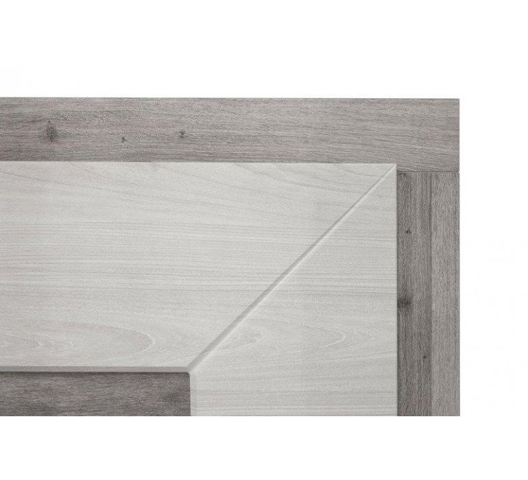 Bahut chêne grisé et blanc moderne VENDOME