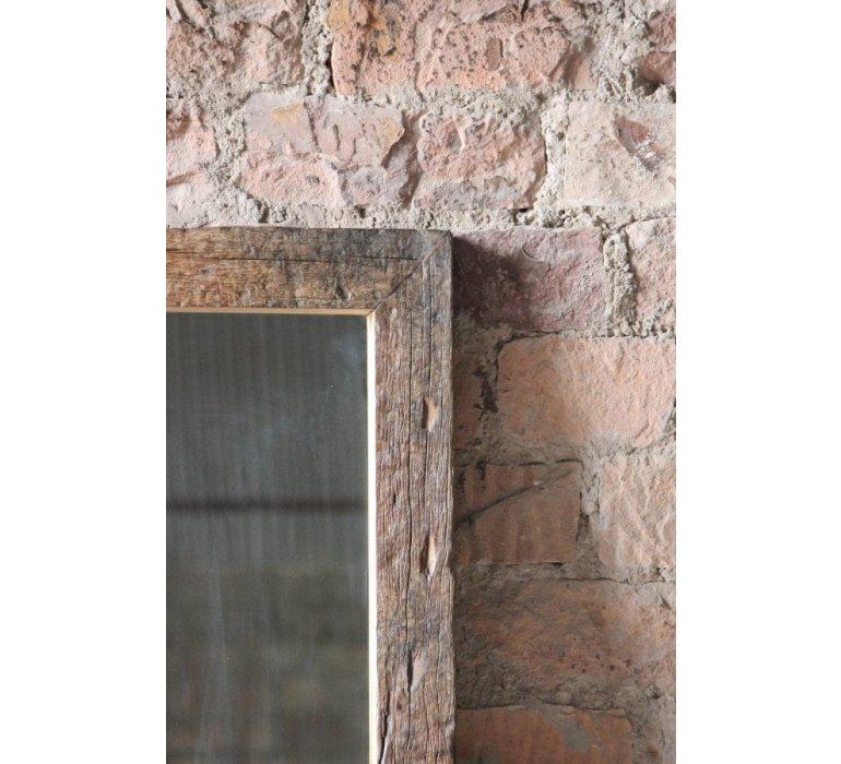 Miroir chêne industriel FIVE