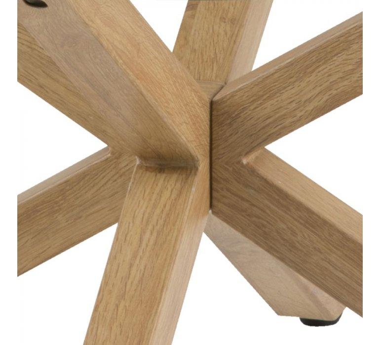 Table basse ronde scandinave en verre GOTEBORG