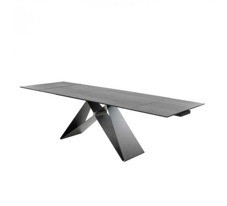 Table à manger céramique extensible moderne IRIS