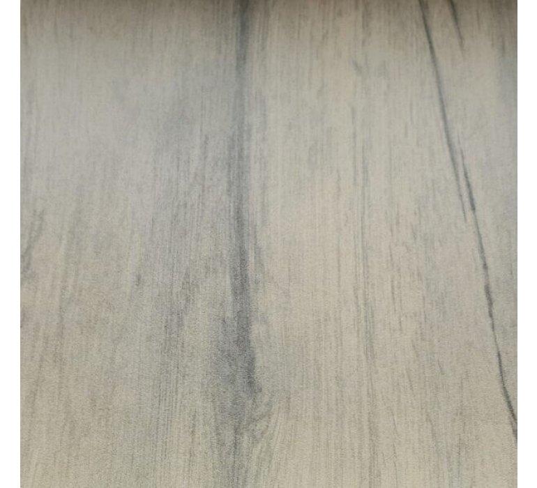 Table à manger extensible en céramique effet bois moderne HESTIA