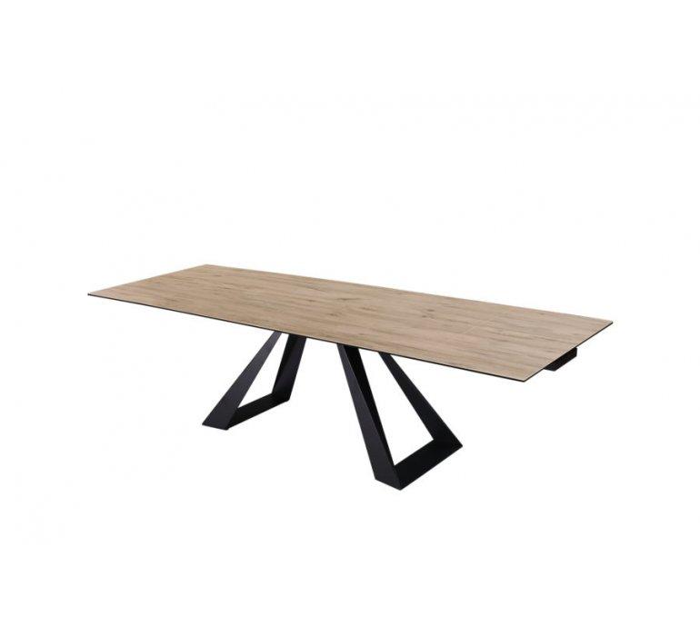 Table à manger moderne en céramique avec rallonge HERA