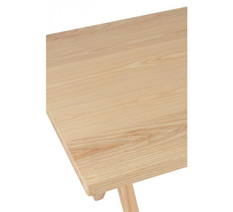 Table à manger scandinave bois clair NORVEGE