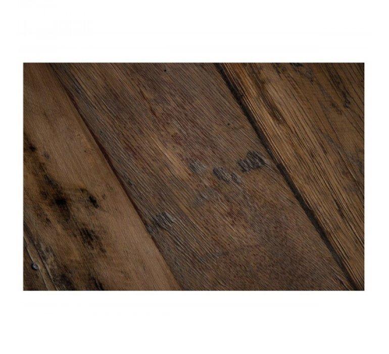 Tabouret de bar industriel bois et métal CESAR