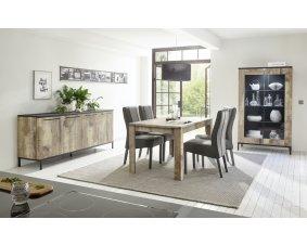 Salle A Manger Complete Avec Table Chaise Enfilade Vaisselier