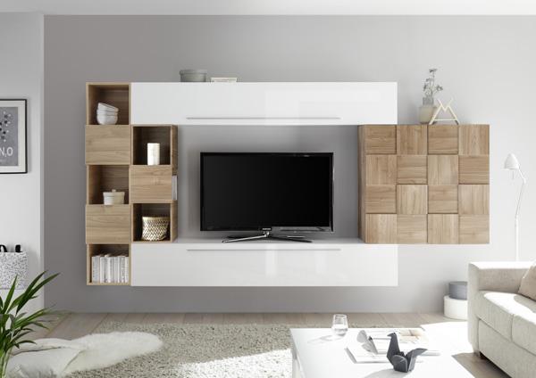 Grand meuble tv suspendu